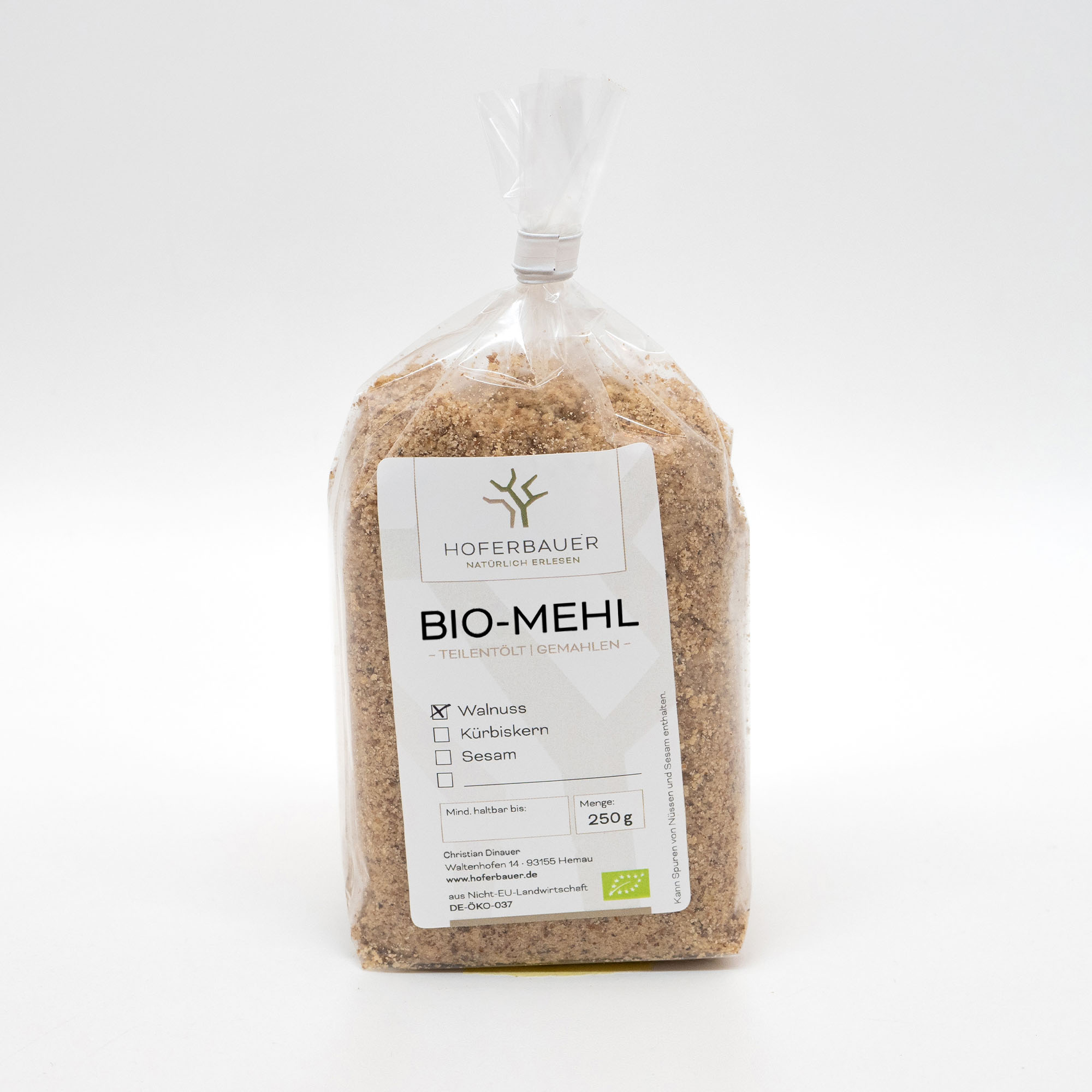 Bio-Walnuss-Mehl