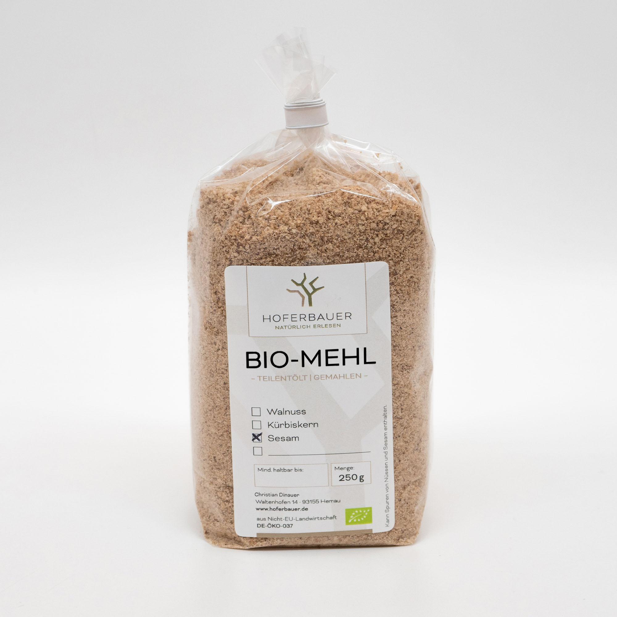 Bio-Sesam-Mehl